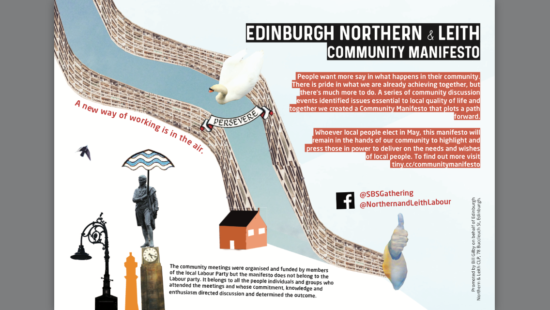 A Community Manifesto: can we shift the balance of power in Leith?