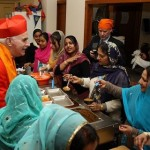 Inter-faith feast at the Punjabi Women's Cafe